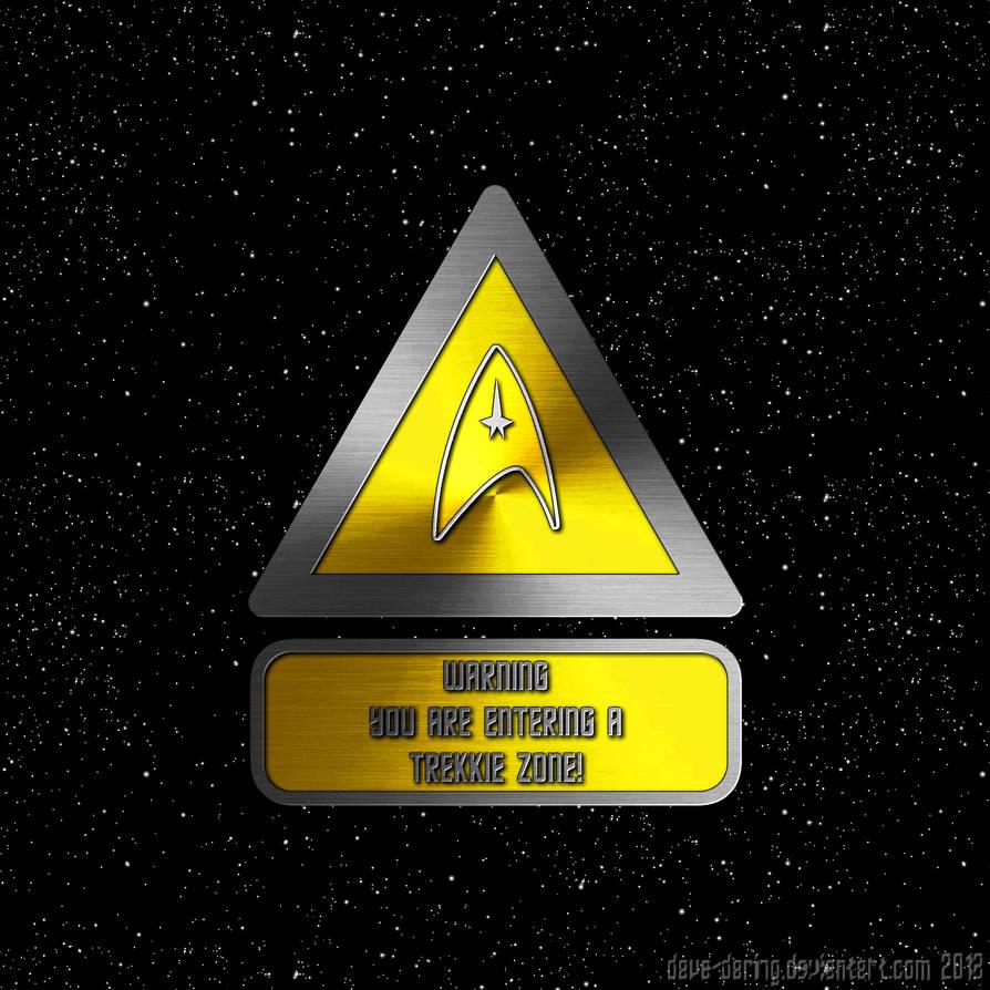 Trekkie Zone by Dave-Daring
