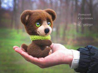 Bear maned Tom OOAK (Made to commission) by Lyntoys