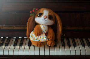 Bunny named Cherry 3 by Lyntoys
