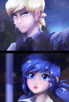 In the rain by Keitronic