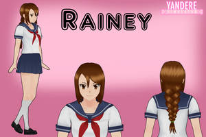 Yandere Simulator: Rainey by Qvajangel