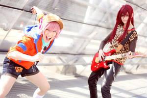 Gravitation Cosplay by kurui-chan