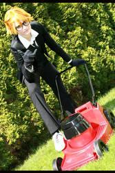 lawnmower love by kurui-chan