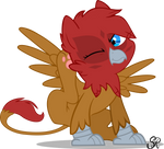 Little Red Robin by NoctisTwilight