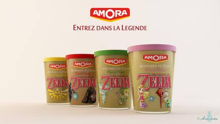 Zelda with Amora ! by jipandcie