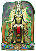 Osiris by JaniceDuke