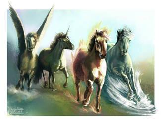 Equus Elementus by JaniceDuke