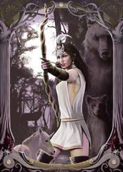Artemis by JaniceDuke