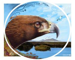 Golden Eagle by JaniceDuke