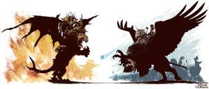 Empire vs Chaos by JaniceDuke