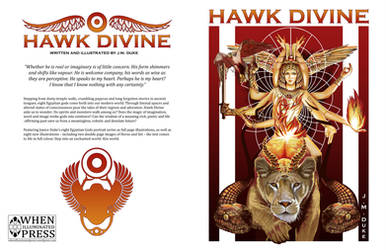 Hawk Divine cover by JaniceDuke