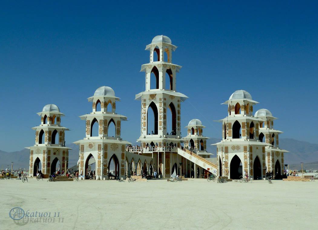Burning Man Temple by katu01