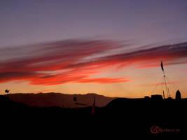 Burning Man Sunset by katu01