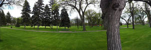 St. Johns Park Panorama by jaryth000