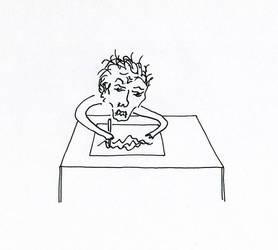 Drawing Man by tonixart