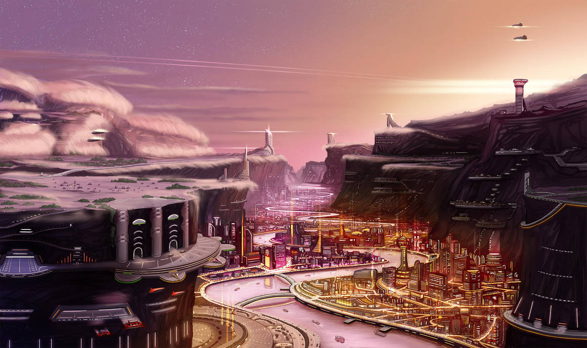 Canyon city by Bear1037