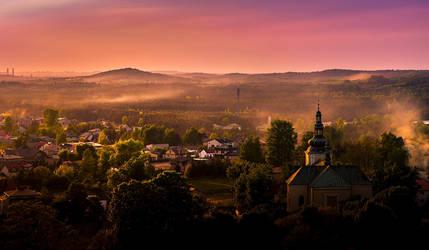 Sunset.. by jacekson