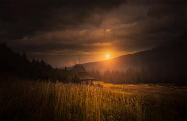 sunset... by jacekson