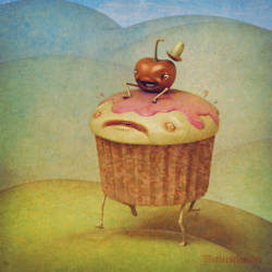 Cupcake Rider by Wetterschneider