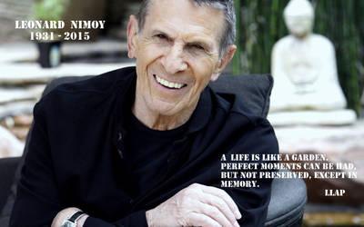 Leonard Nimoy Homage - Final tweet by Snapelove14