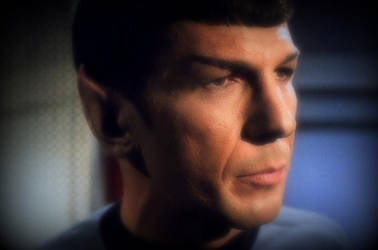 Leonard Nimoy as Mr Spock in the star trek 1966 by Snapelove14