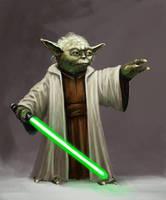 Yoda by Seraph777