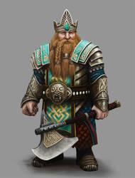 Dwarf Lord - Algadon by Seraph777