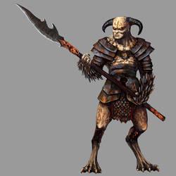 Warrior Devil by Seraph777