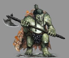 Troll Dwarf Slayer by Seraph777