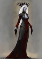 Drow Matriarch by Seraph777
