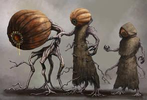 Pumpkin Creatures by Seraph777