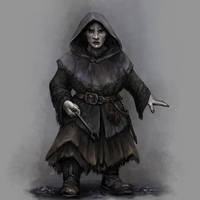 Duergar Spellcaster by Seraph777
