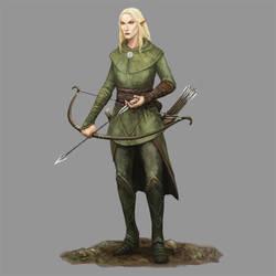 Silvan Elf by Seraph777