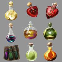 Potions Algadon by Seraph777