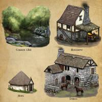 Algadon Buildings (2) by Seraph777