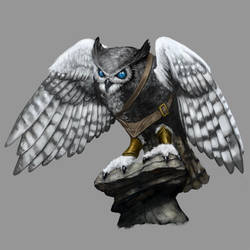 Owl Archon by Seraph777