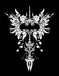Batman Logo (crescendo) by GAGBAGCHEN