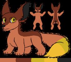 [sarpg]Qi|fennec fox|female by millemusen