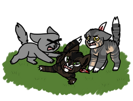 [cob]Sudden Single Cat Attack by millemusen