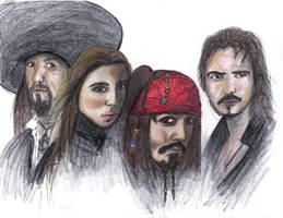 pirates of the carribean by 1amm1
