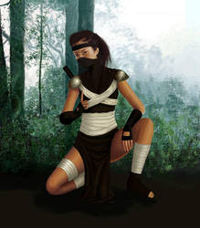 Ninja Girl by jessicasalehi