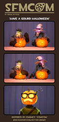[SFMCOM] Have a gourd Halloween! by Ritter-draws