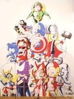 Avengers by AgnesGarbowska