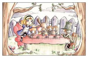 The Tea Party by AgnesGarbowska