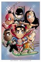 Little Justice League by AgnesGarbowska