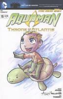 Aquaman Turtle Cover by AgnesGarbowska