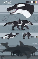 Ref: Mahk (beast) by UnfortunateCorvid