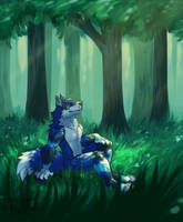 ych - SerixPaws by ForestFright