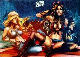 SIDEKICK 01 Cover by revistaSIDEKICK