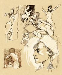 Nude Studies 02 by lao-wa